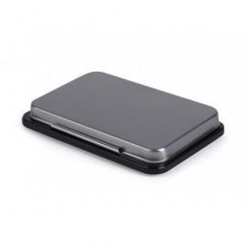 5*S Tampón metálico 5x8,5cm negro 240609