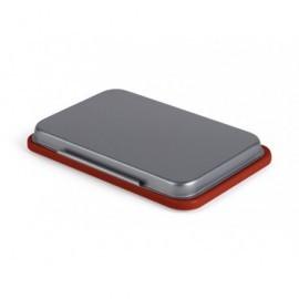 5*S Tampón metálico 5x8,5cm rojo 240625