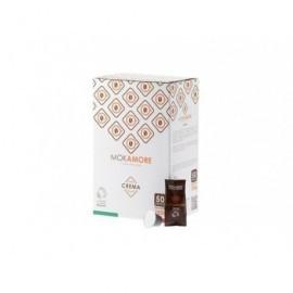MOKAMORE Caja 50 cápsulas café crema 02912