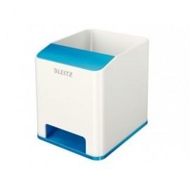 LEITZ Cubilete Leitz Wow Dual Azul Metalizado/Blanco 53631036