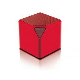 TRUST Mini altavoz Ziva bluetooth rojo 21717