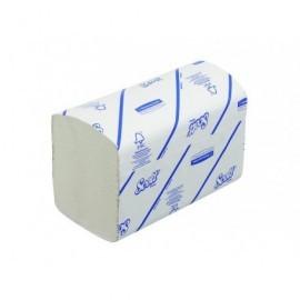 SCOTT Caja 15 paq. toallas interplegadas AIRFLEX*,tamaño mediano 200x315mm,240 serv.,1 capa 6669
