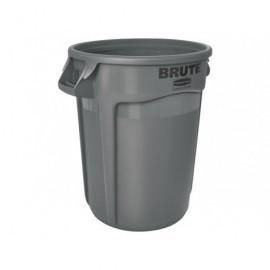 RUBBERMAID Contenedores BRUTE® 121,1L  Ergonomía  durabilidad, cambio rápido y seguro FG263200GRAY
