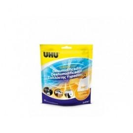 UHU Deshumidifcador,contra humedad malos olores,bolsa 2 x 50 gr.No necesita contenedor.Neutral 35897