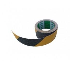 Viso Cinta adhesiva antideslizamiento PVC c/partículas de cuarzo 5mx50mm Negro/Amarillo RSA550NJ