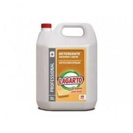 LAGARTO Detergente Líquido Lagarto Con Jabón Professional 5 Litros - 66 Lavados 402950