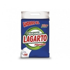 LAGARTO Detergente Lagarto Máquinas,saco 10 kg. - 125 lavados 331155