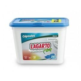 LAGARTO Detergente Cápsulas Lagarto Platinum 25 Lavados 401250