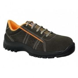 PANTER Zapato t43,máx.rendimiento,mín.coste,puntera y plantilla acero,suela shock absorber 630043