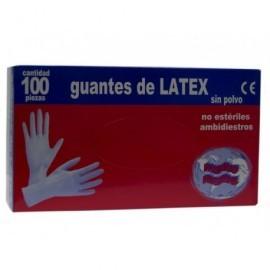 Guante de látex desechable.Látex natural 100%. sin polvo. talla P-Z7051