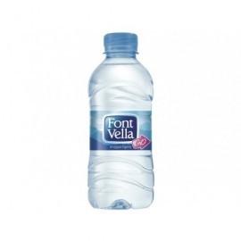 FONT VELLA Agua Mineral Natural Pack 35 u Botellas 33 cc. 0 19381