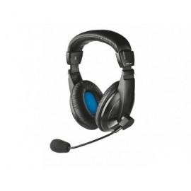 TRUST Auriculares con cable Quasar para PC y portátil micrófono diadema negro 21661
