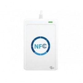 BIT4ID Lector miniLector Air de tarjetas de proximidad NFC inalámbrico/Mifare/Felica/usb MINAIRNFC