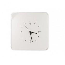 PAPERFLOW Armario para llaves con Reloj. Color Blanco. Fabricado en ABS brillo MTMKHC13