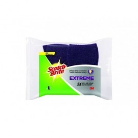 3M Pack 2 Estropajo Morado Extreme  Scotch-Brite™ UU003643077