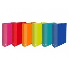 ELBA Carpeta de proyectos cartón forrado papel 3 slp elba color fº lomo 60 surtidos 400087188