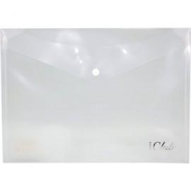Sobre polipropileno 333x239 con broche color transparente 318474