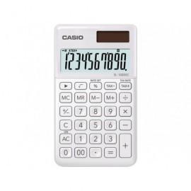 CASIO Calculadora Bolsillo 10 DigBlanca SL-1000SC-WE