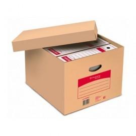 PERGAMY Contenedor caja americana multiuso Folio 410 x 360 x 280 Tapa y fondo