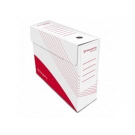 PERGAMY Archivador Definiclás Color Folio 345x250x100mm Rojo Fondo automático