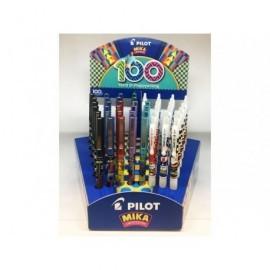 PILOT Expositor 48 bolígrafos V5/G-2 colores surtidos 100 aniversario NEMIKA1