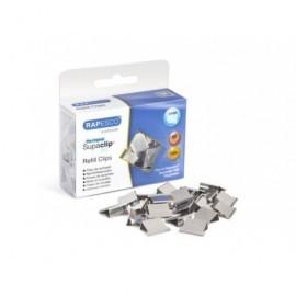 RAPESCO 100 Supaclip®60 de repuesto de acero inoxidable. Capacidad para 60 Hojas. CP10060S