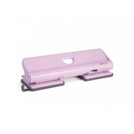 RAPESCO Perforadora 720 Metálica de 4 Agujeros con capacidad para 20 hojas. Color rosa. 1347
