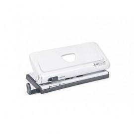 RAPESCO Perforadora ajustable blanca de 6 agujeros para organizadores y diarios. 1321