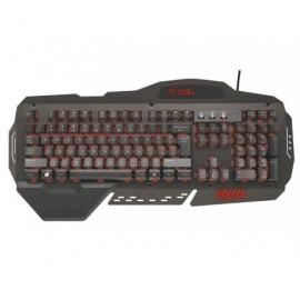 TRUST Teclado Gaming GXT 850 con carcasa de metal 21001