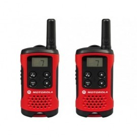 MOTOROLA Walkie-Talkies T40 Pack Rojo/4km/8 canales/3xAAA P14MAA03A1BB