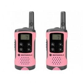 MOTOROLA Walkie-Talkies T41 Pack Rosa/4km/8 canales/3xAAA P14MAA03A1BN