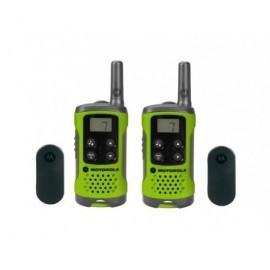 MOTOROLA Walkie-Talkies T41 Pack Verde/4km/8 canales/3xAAA P14MAA03A1BP