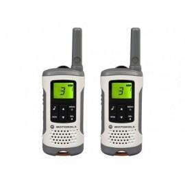 MOTOROLA Walkie-Talkies T50 Pack White/6km/8 canales/batería recargable P14MAA03A1BC