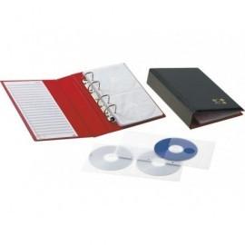 PARDO Archivador de anillas CD/DVD con capacidad para 20 CDs 182