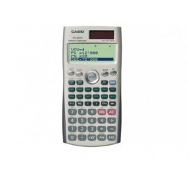 CASIO Calculadora Financiera FC-200 Financiera 12 digitos Solar y pila FC-200