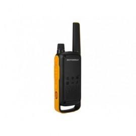 MOTOROLA Walkie-Talkies T82EX Pack 2/10km/16 channels/batería recargable B8P00811YDEMAG