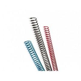 GBC Espirales Caja 100 ud Negro 6mm Plástico A9665904