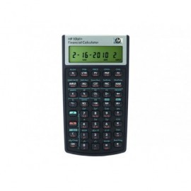 HP Calculadora financiera Negro Hp-10Biiplus/B17