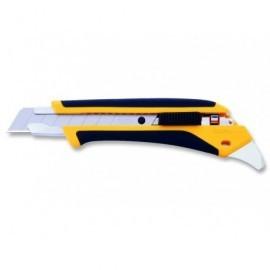 OLFA Cutters L5-AL 18 mm Sistema bloqueo cuchillas Con lengüeta para abrir botes L5-AL