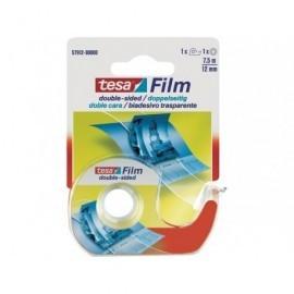 TESA Cinta adhesiva  Doble cara 7,5X12mm Cuchilla de metal con dispensador 57912-00000-01