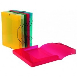 VIQUEL Carpeta de proyectos  lomo 30mm colores surtidos Polipropileno A4  02138305