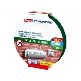 TESA Cinta adhesiva doble cara  Doble cara 19mm x 5m 10 ud  55733-00018-03