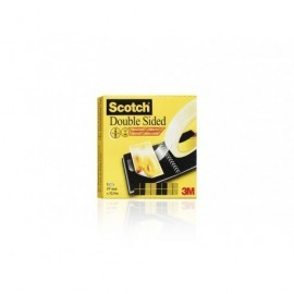 SCOTCH Cinta 665 Adhesiva 19x33mm Doble cara Sin film protector 70016072798