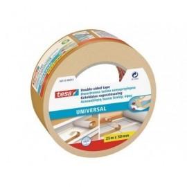 TESA Cinta adhesiva Doble cara 50mmx25m Universal Cinta montaje BE56172-00005-11