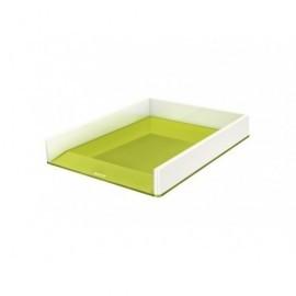 LEITZ Bandeja Leitz Wow Dual Verde Metalizado/Blanco 53611064