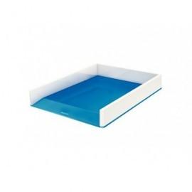 LEITZ Bandeja Leitz Wow Dual Azul Metalizado/Blanco 53611036