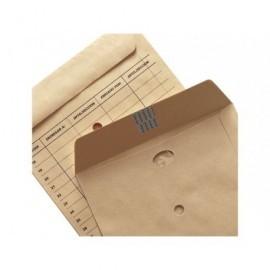 GALLERY Bolsas Caja 250 u 250X353 Kraft natural verjurado. 112 G correo interno 05/08953P