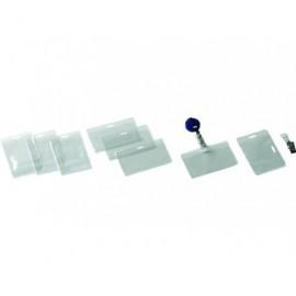 5* Funda identificacion Caja 50 Ud 90X62MM Transparente 107350