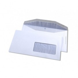 GALLERY Sobres Caja 500 ud 115X225 Offset Blanco 80 G Humectable 37588