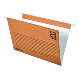 GIO Carpeta colgante Cristal Kraft Bicolor Folio Prolongado 240x315 mm Lomo V 400021952